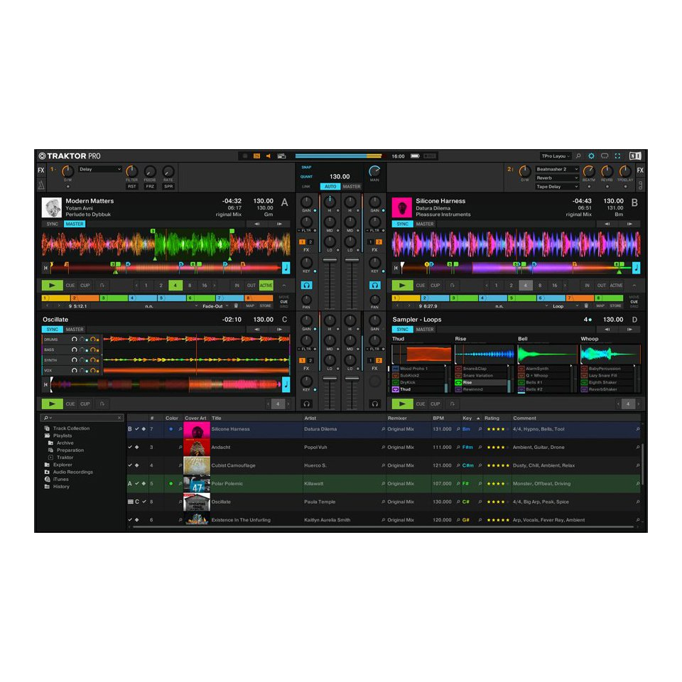 Native Instruments Traktor Pro 3 DJ Software